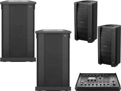 Bose F1 812 Pair With Dual 10-In Sub Pair & T4S Mixer • 3,650.53£