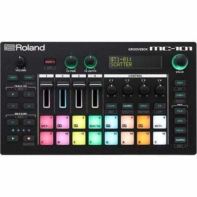 Roland MC-101 Groovebox 4-track Sequencer New • 407.86£
