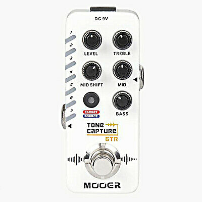 Mooer Tone Capture GTR Guitar Effects Pedal Capture Any Guitar's Tone • 72.35£