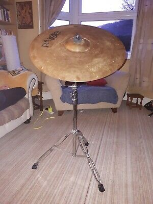 Paiste 20  Ride Cymbal 101 Brass, Stand Included!  • 14.80£