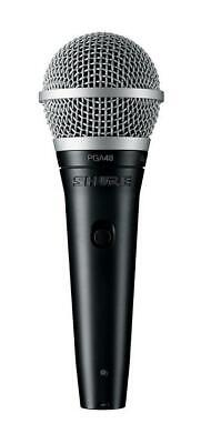 Shure PGA48 Cardioid Dynamic Vocal Microphone with XLR to Jack Cable