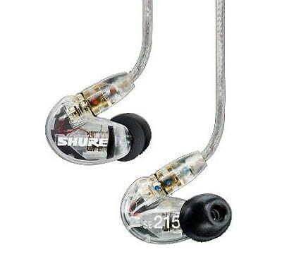 Shure SE215-CL-EFS Sound Isolating Earphones, Clear • 97.23£