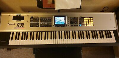 Roland Fantom X8 Keyboard And Work Station, With Prostand X Frame Sustain Pedal. • 700£