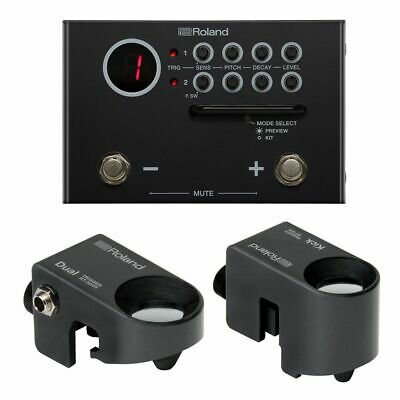 Roland TM-1 Trigger Module With RT-30HR & RT-30K Drum Triggers New • 305£