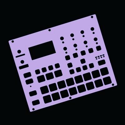 Purple Overlay Card For The Elektron Digitakt (by Novalays) • 9.99£