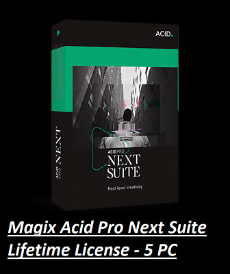 NEW ✔️ 2020 MAGIX ACID PRO Next Suite 1.0.3 ✔️ Windows License ✔️ Fast Delivery • 4.63£