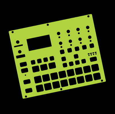 Lime Overlay Card For The Elektron Digitakt (by Novalays) • 8.99£