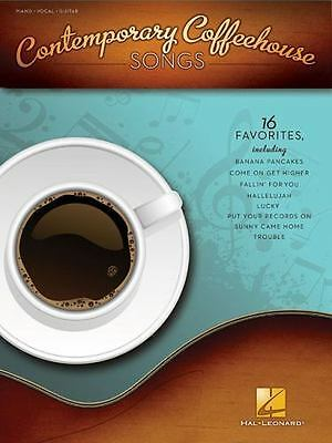 Contemporary Coffeehouse Songs By Hal Leonard Corp. • 10.42£