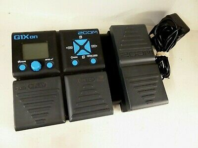 Zoom G1Xon - Guitar Multi-effects Expression Pedal - FREE POST • 70£