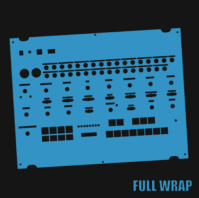 Blue Full-wrap Overlay For The Behringer Crave Modular Synth (by Novalays) • 8.99£