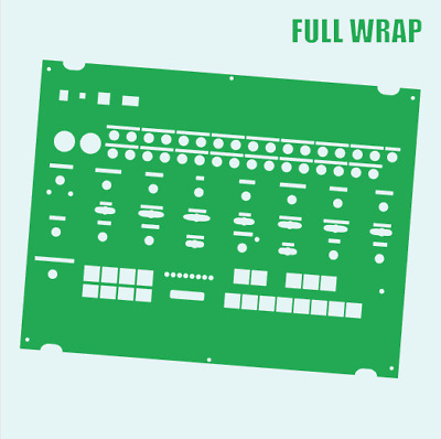 Green Full-wrap Overlay For The Behringer Crave Modular Synth (by Novalays) • 8.99£
