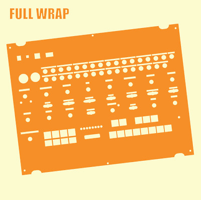 Orange Full-wrap Overlay For The Behringer Crave Modular Synth (by Novalays) • 8.99£