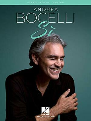 Andrea Bocelli: Si (PVG) By Bocelli  New 9781540044686 Fast Free Shipping.. • 13.42£