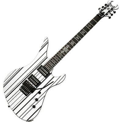 Schecter Synyster Gates Standard - Gloss White W/Black Pinstripes • 759£