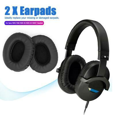 2x Replacement Ear Pads For Sony MDR-7506 MDR-V6 MDR-CD 900ST Headphone Parts • 5.45£
