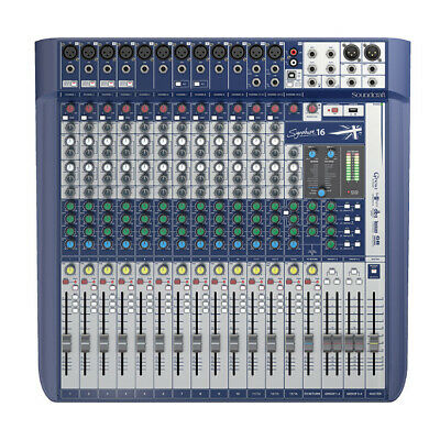 Soundcraft Signature 16 16-Input Mixer With Effects • 499.96£