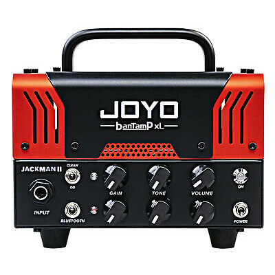 Joyo BanTamP XL JackMan II 20-Watt Tube Guitar Head 2020 Red With Foot Pedal • 131.10£