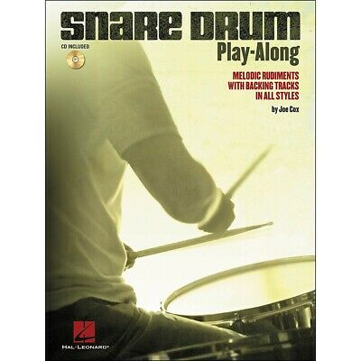 Hal Leonard Snare Drum Play-Along - Melodic Rudiments • 10.96£