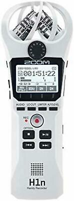 ZOOM Handy Recorder H1n White H1n/W Limited Color F/S W/Tracking# New From Japan • 137.50£