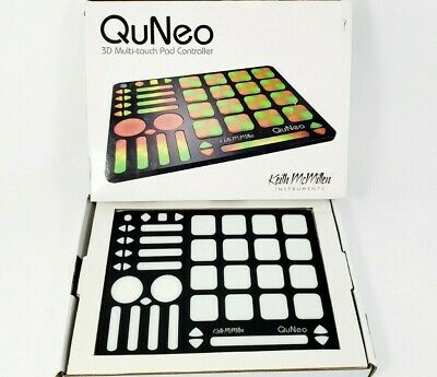 Keith McMillen Instruments QuNeo 3D Multi-Touch Pad Controller K-707 • 139.64£