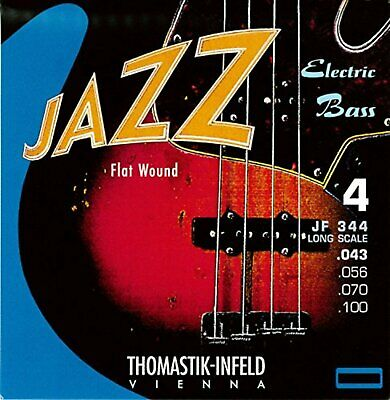 Thomastik-Infeld JF344 4-String Flatwound Long Scale Jazz Bass Strings Set F/S • 89.55£