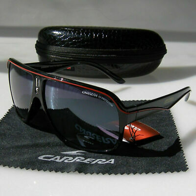 Black+Red Sunglasses Men's Pilot Gradient Lens Eyeglasses Glasses Box Gift • 7.18£