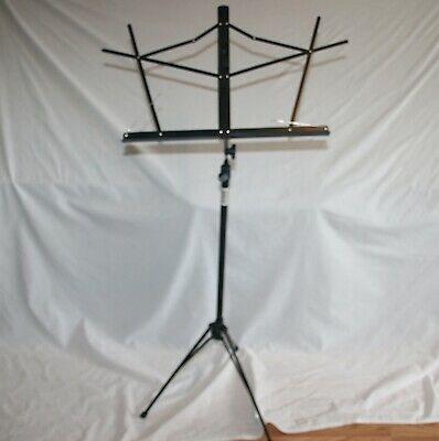 On-Stage SM7122BB Compact Sheet Music Stand Black • 14.44£