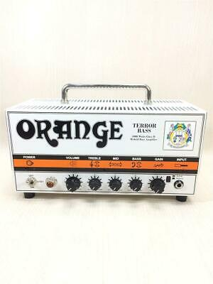 ORANGE TERROR BASS 1000 Amp Teller Head Amp MOSFET • 919.09£