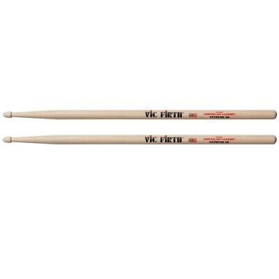 VIC FIRTH American Classic X5B Extreme Wood Tip Drum Sticks Full Sound Hickory • 11.44£