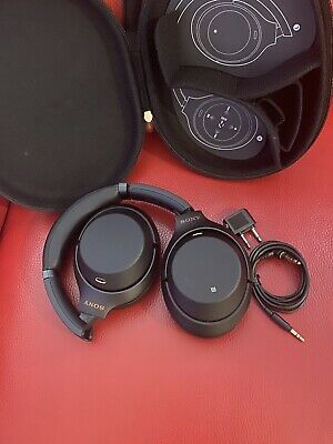 Sony WH-1000XM3 Over The Ear Wireless Noise Cancelling Headphones - Black /Gold  • 180£