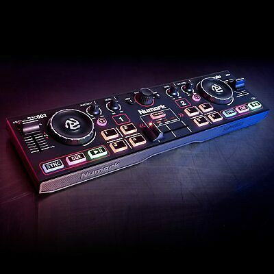 Numark DJ2GO2 - Complete USB DJ Controller Set For Serato DJ With 2 Decks, A Mix • 95.54£