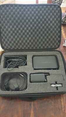 Shure GLXD Z2 Headset Wireless System,PGA31/14/sm3, And Padded Case, Barely Used • 185.21£