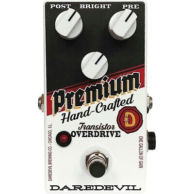 Daredevil Pedals Hand-Crafted Premium Overdrive V2 • 127.44£