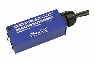 Radial Engineering Catapult Mini TX | 4-Channel Cat 5 Audio Snake • 65.12£