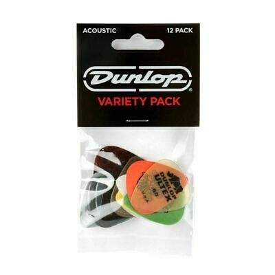 Jim Dunlop PVP112 Acoustic Guitar Pick Variety Pack, 12 Pack • 7.29£