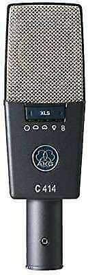 AKG C414 XLS Side address type condenser microphone from japan free shipping DHL