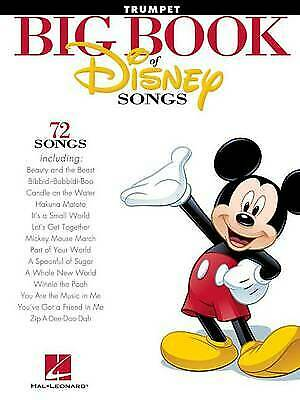 The Big Book Of Disney Songs - Trumpet, Hal Leonard Publishing Corporation,  Pap • 10.05£
