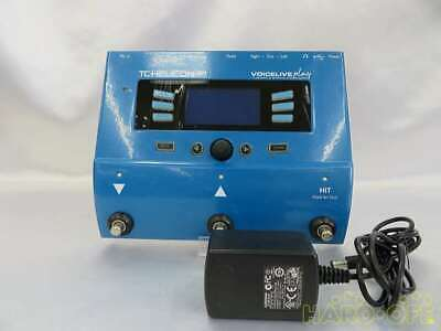 TC.HELICON Audio Effector VOICELIVE PLAY Blue Good Condition From Japan • 244.33£