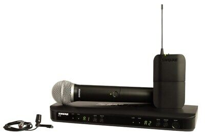 Shure BLX1288/CVL Dual Channel Combo Wireless System • 441.35£