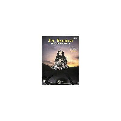 Hal Leonard Joe Satriani Guitar Secrets Book • 7.86£