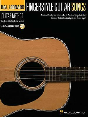 Hal Leonard Guitar Method Fingerstyle Guitar Songs Hal Leonard Guitar Method Son • 10.03£