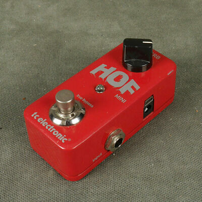TC Electronic Hall Of Fame Mini Reverb FX Pedal - 2nd Hand • 65£