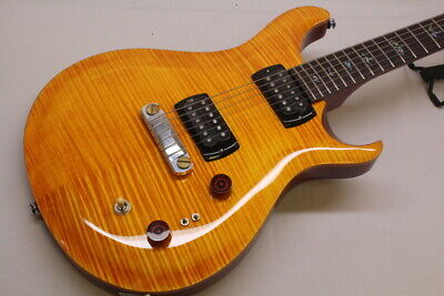 The Actual Product Of Photograph Prs /Se Pauls Guitar Amber • 1,436.03£