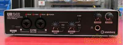 Steinberg UR242 Audio Interface—4 Inputs And 2 Outputs—Excellent Condition • 163.54£