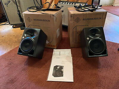 NEUMANN KH 120 A - PAIR- With Monitor Stands  • 681£