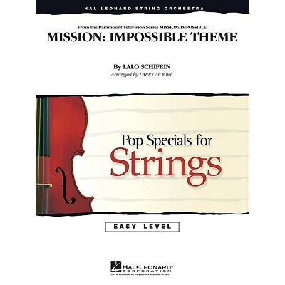 Mission: Impossible Theme Easy Pop Specials For Strings Arranged By Larry Moore • 24.84£