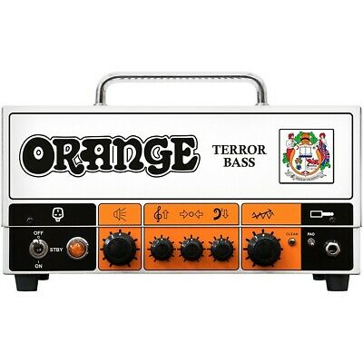 Orange Amplifiers Terror Bass 500W Tube Hybrid Bass Amp Head • 564.88£