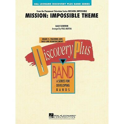 Mission: Impossible Theme - Discovery Plus Level 2 Arranged By Paul Murtha • 35.49£