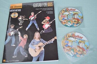 Hal Leonard Guitar Method - Guitar for Kids Beginners Guide with CD & extras