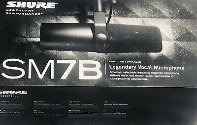 Shure SM7B Cardioid Dynamic Vocal Microphone New • 262.16£